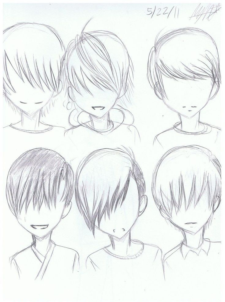 Girl Hairstyles Drawing ` Girl Hairstyles in 2020 Anime