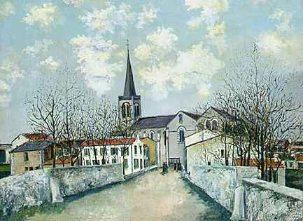 images of utrillo | Maurice Utrillo