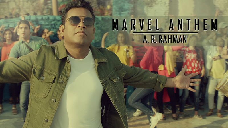 Joe Russo and A R Rahman launch the Hindi Marvel anthem for Indian fans!