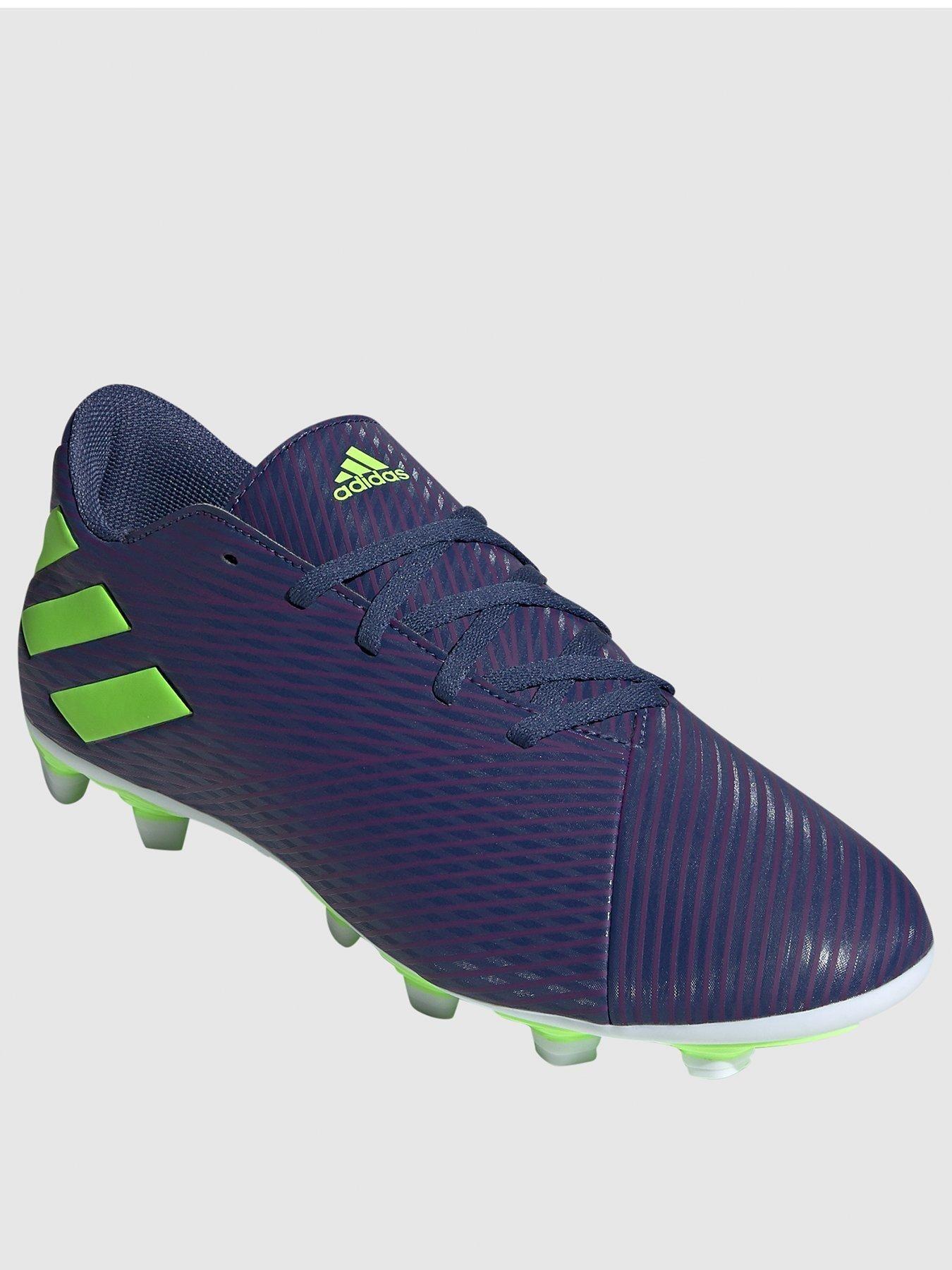 Messi Nemeziz 19 4 Firm Ground Football Boots Indigo In 2020 Football Boots Messi Football Shoes Boots
