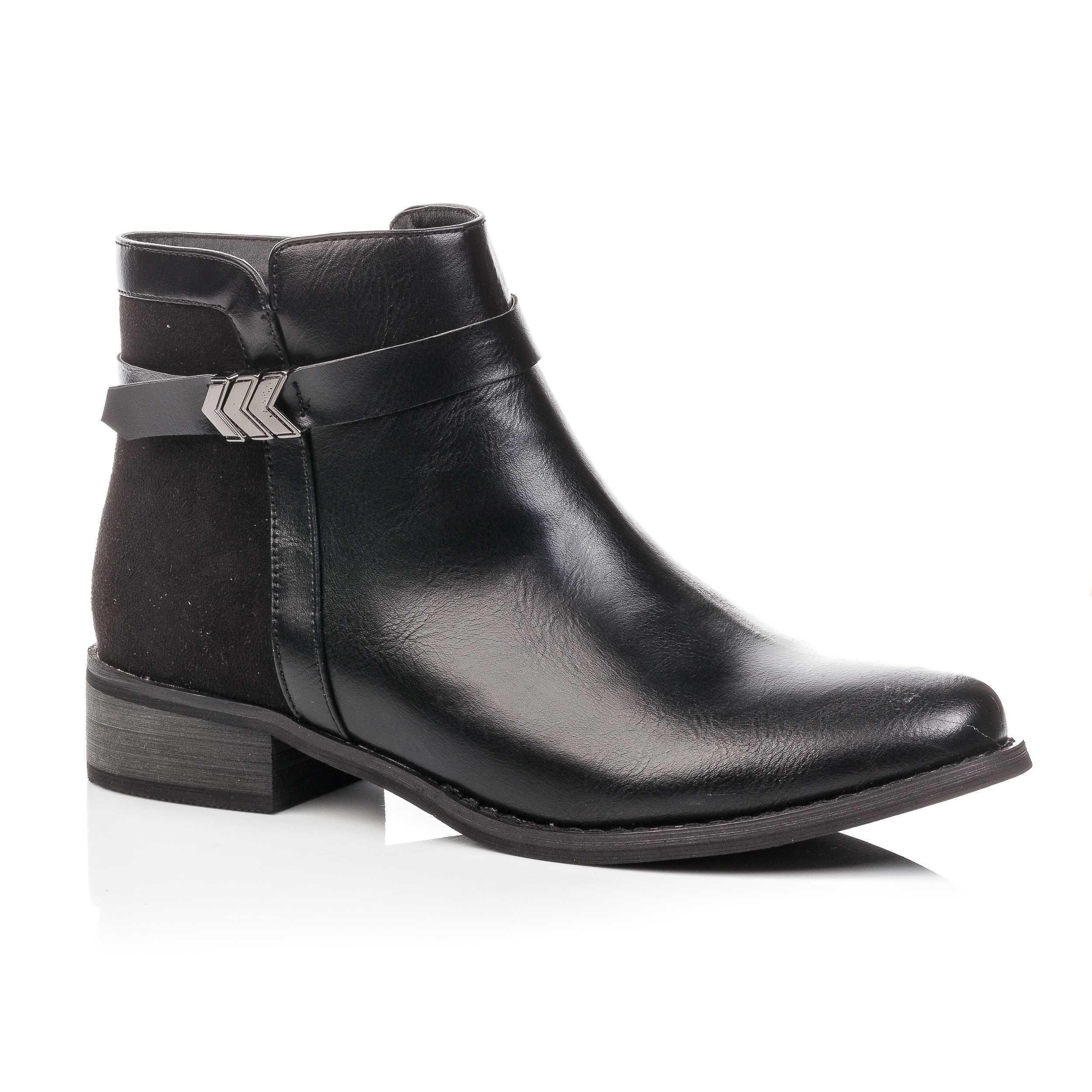 Propose Boots Femme Un Besson Noir Chaussures Très Bottines qXq4Za