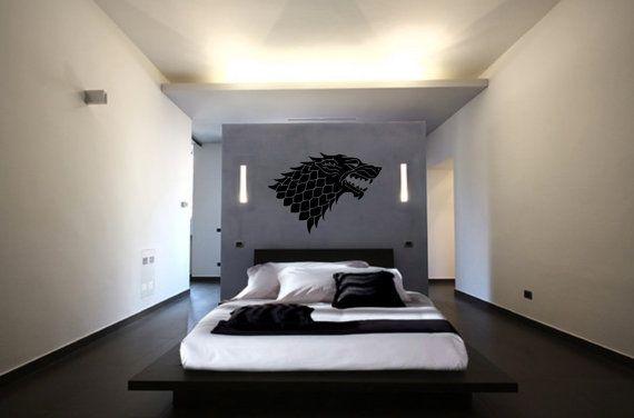 Game of Thrones Stark Sigil Decal Stark House by NewMetaMedia. Game of Thrones Stark Sigil Decal Stark House by NewMetaMedia