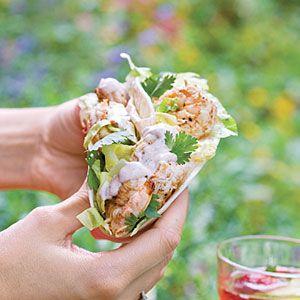 Citrus Shrimp Tacos | MyRecipes.com