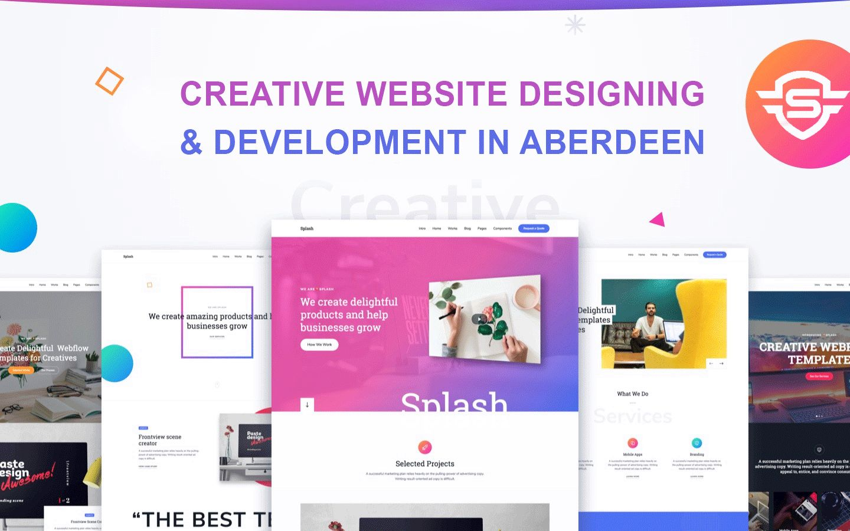 Creative Website Designing Development In Aberdeen Web Design Website Design Web Design Services