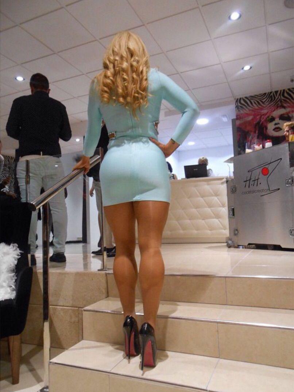 Hot ass heels