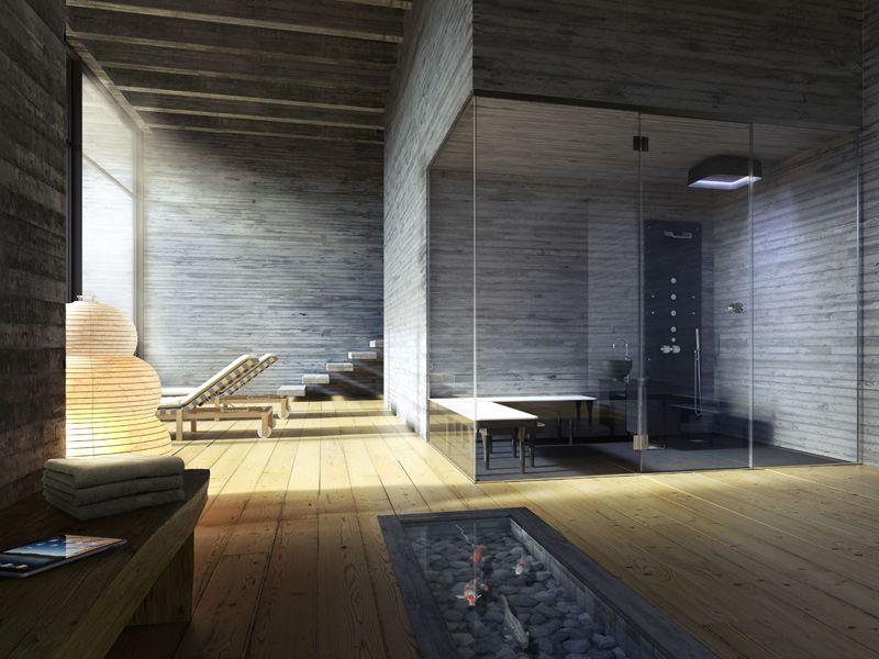 ANANDA Bagno turco by Glass 1989 design Doshi Levien   Idee per la ...
