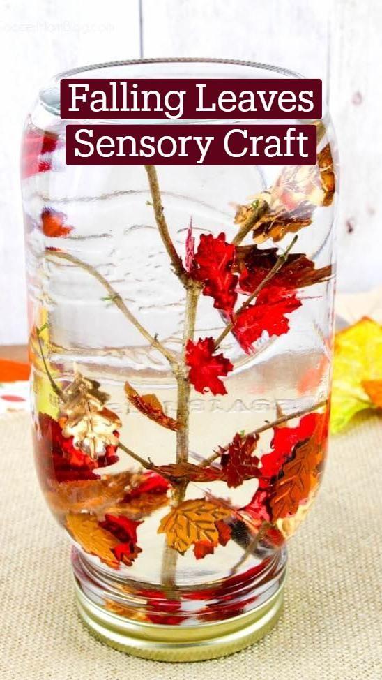 Falling Leaves Sensory Craft