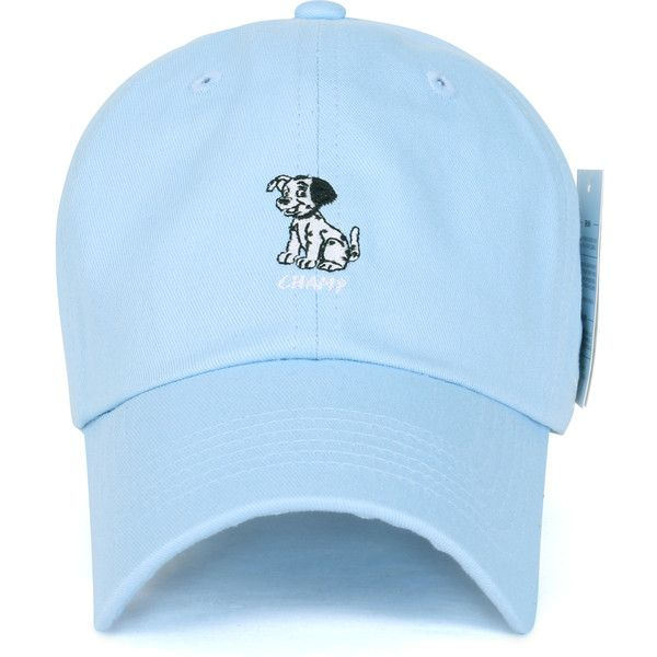 e857c5bbca5 Disney Cotton Cute 101 Dalmatians Logo Adjustable Curved Hat Baseball...  ( 14) ❤ liked on Polyvore featuring accessories