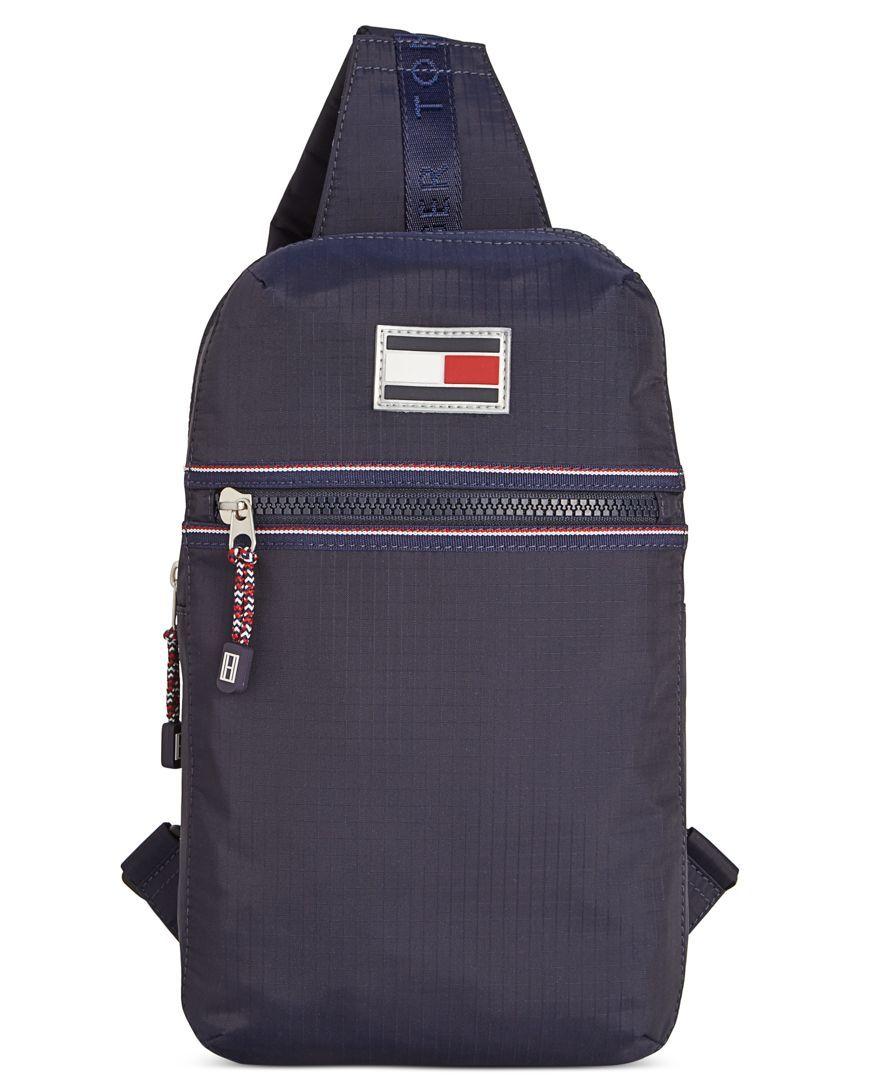 Sling bag below 500 - Tommy Hilfiger Ripstop Nylon Sling Bag