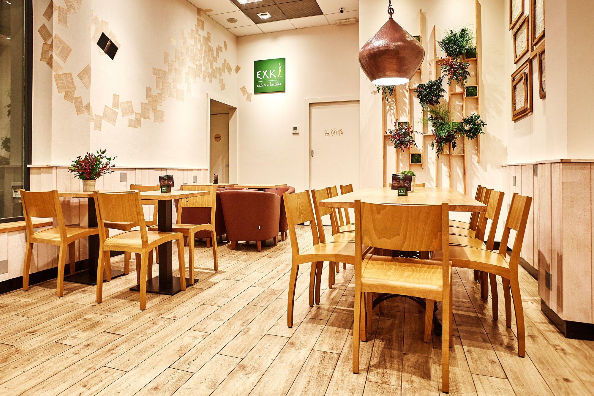 exki ristorante bio design architettura
