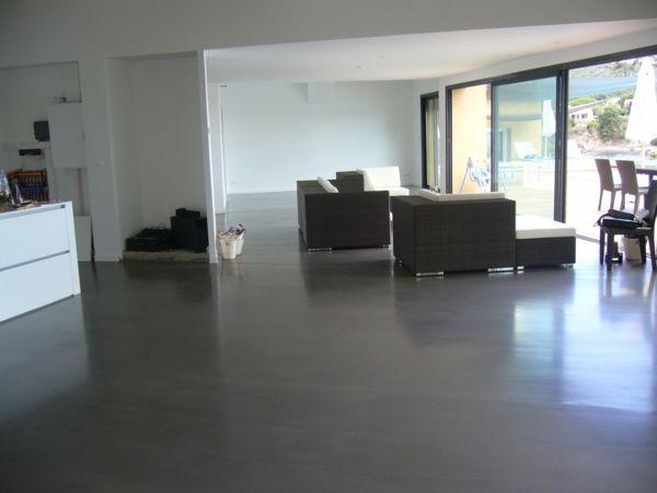 Le Béton Ciré Dans La Maison Moderne | Beton Ciré, Sol En Béton