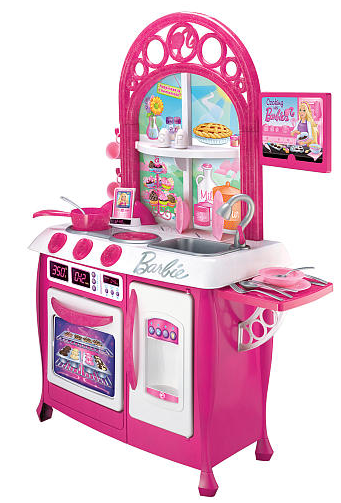 Hot Toys R Us Barbie Gourmet Kitchen 39 99 Reg 79 99 Store
