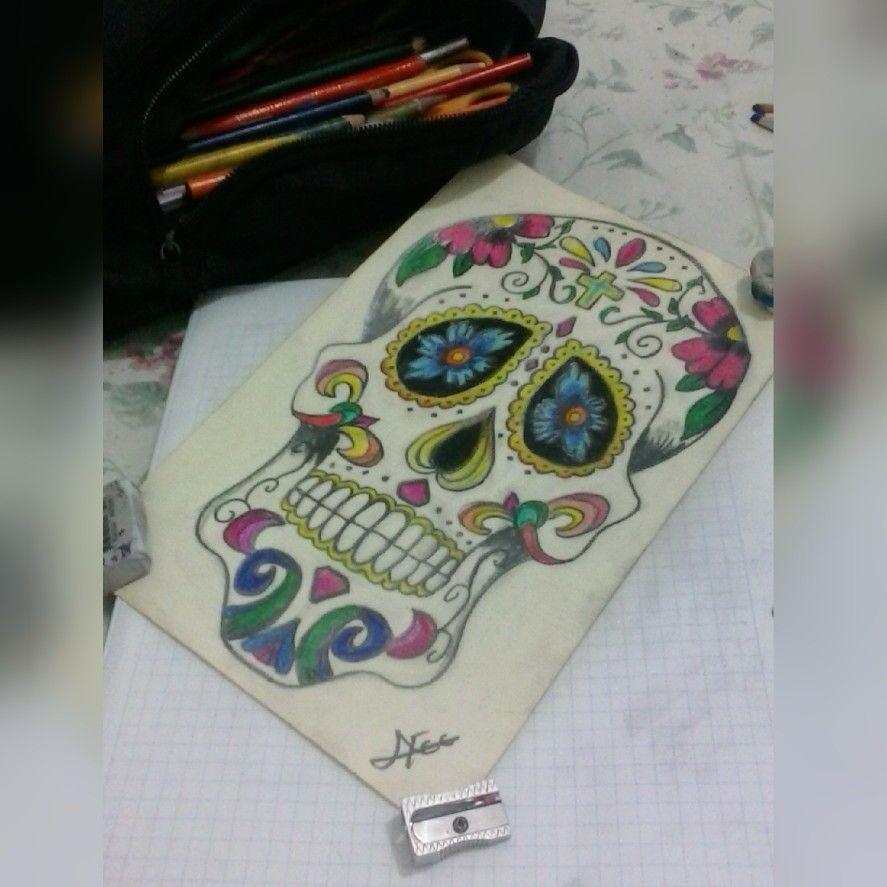 Skull mexican - Calavera mexicana
