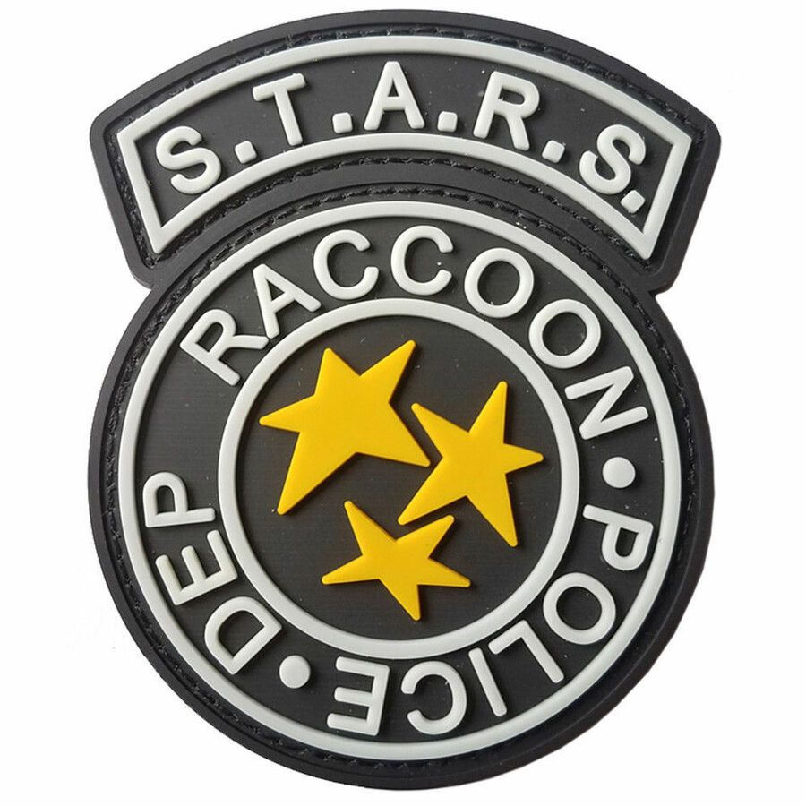 Resident Evil Uniform//Costume Cosplay Patch Set of 8