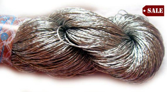 Viscose Silk Yarn Shining Superfine / Lace weight by HandyFamily, €4.50