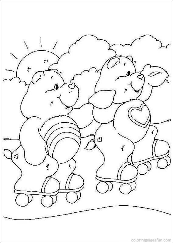 Care Bears Coloring Pages 4 | Care Bears | Pinterest | Malen kinder ...