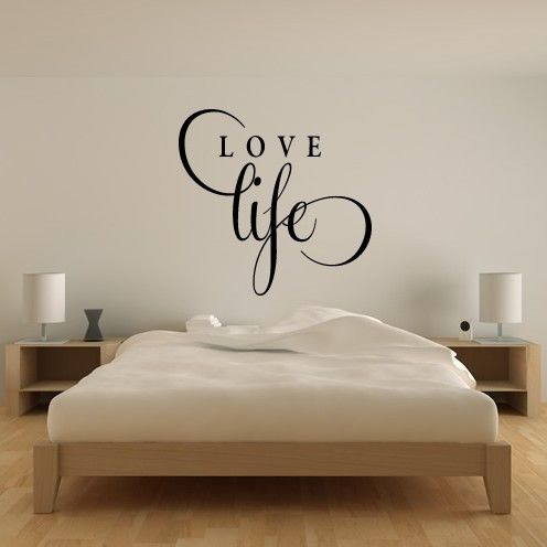 Home Love Life Quote Wall Art Stickers Wall Decal Love Wall Interesting Love Quotes Wall Art