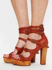 Jeffrey Campbell Stella Platform Heel - Rust 7 - $198.00