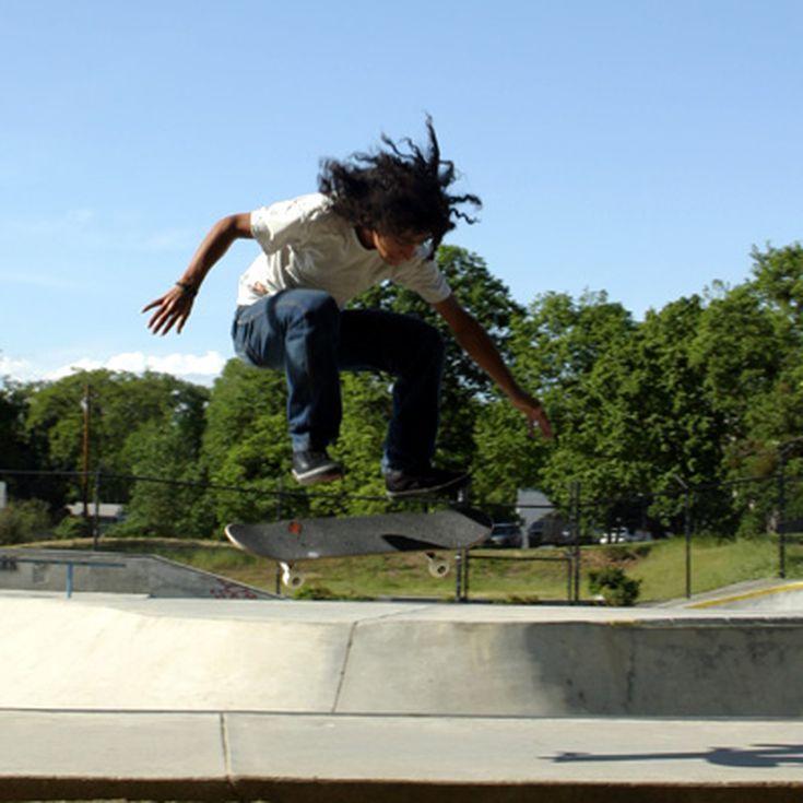 Learn How to Kickflip on a Skateboard   Skateboard