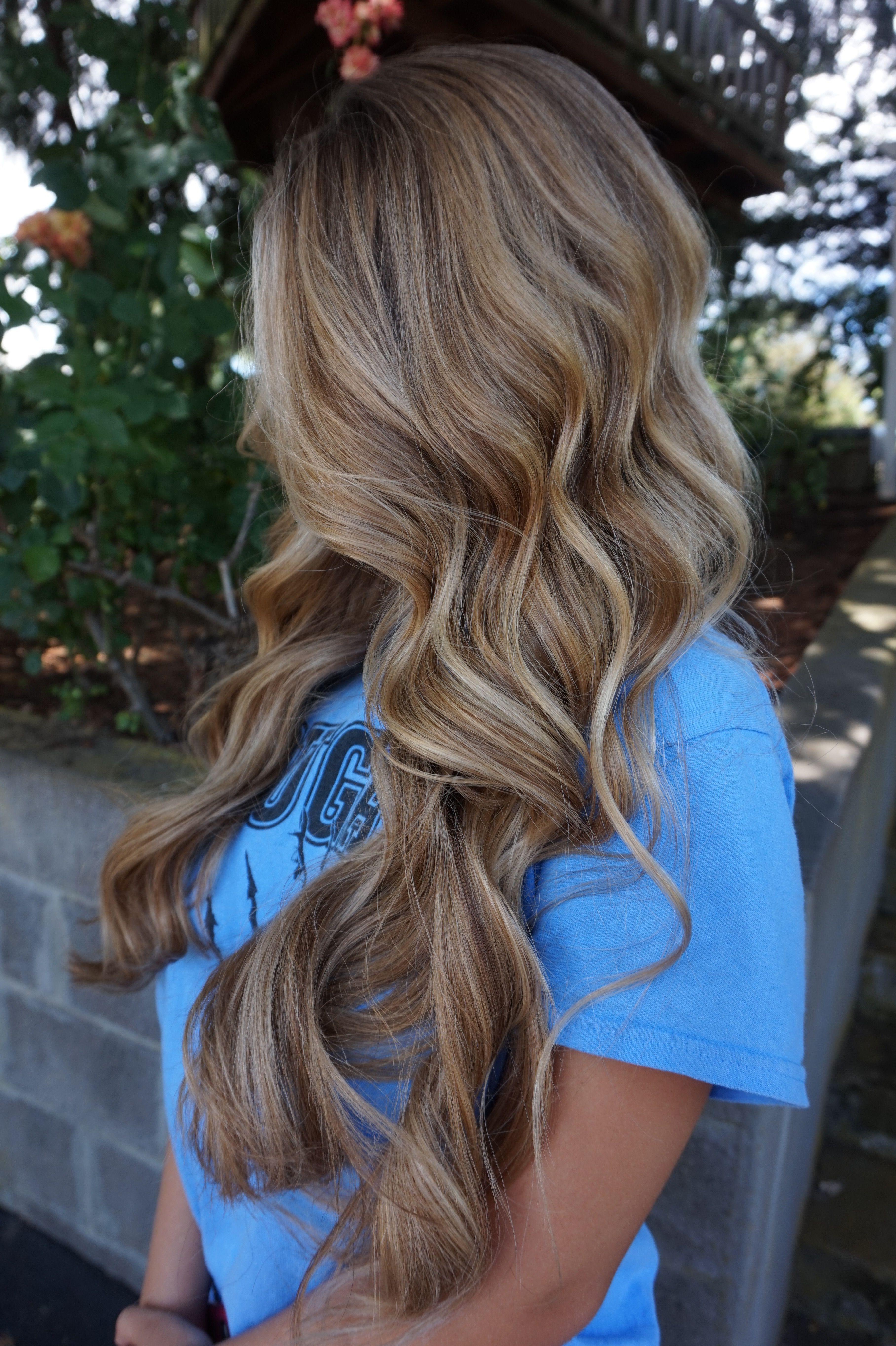 Balayage dirty blonde blend hair by abigail walston hair