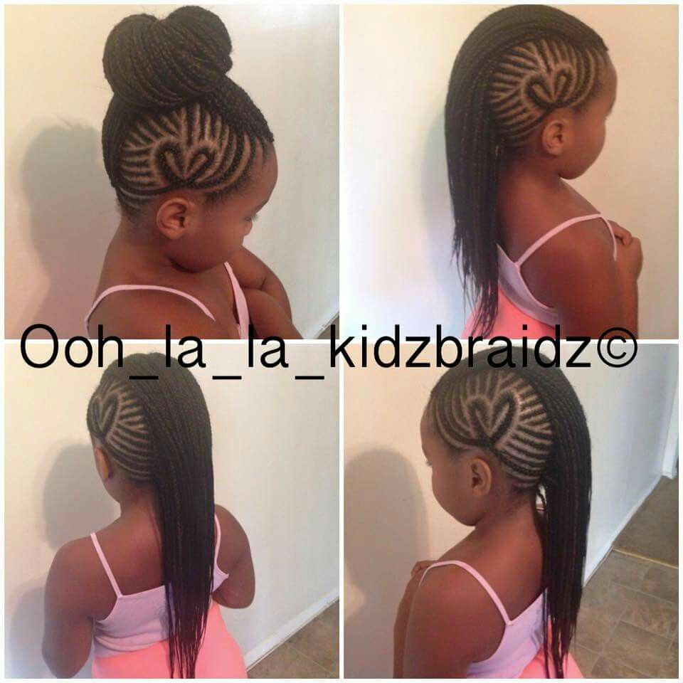 Heart Mohawk Hair Styles Cute Little Girl Hairstyles