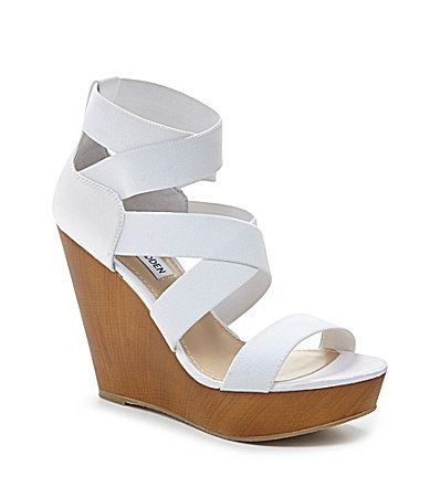 Steve Madden Val Wedge Sandals #Dillards