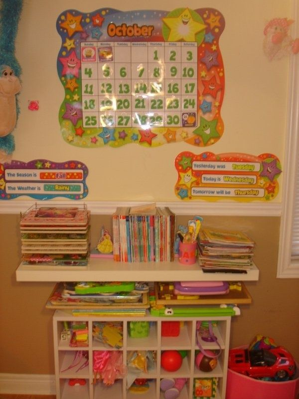 Home Daycare, Kids Daycare, Preschool Organization