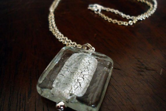 Summer Ice Cube Necklace - by FlairForFanciful