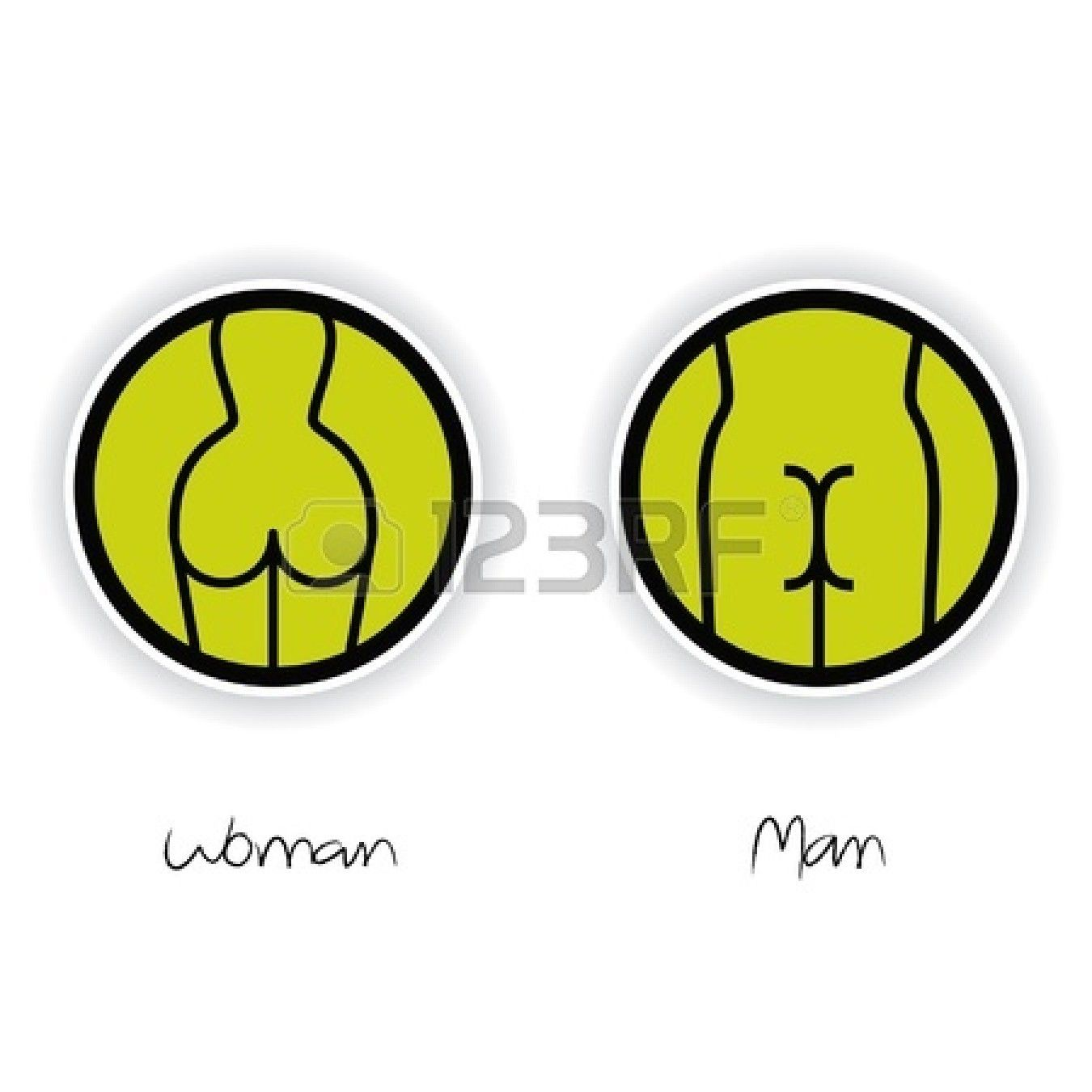 Women and men toilet sign stock vector restroom sign pinterest women and men toilet sign stock vector biocorpaavc Choice Image