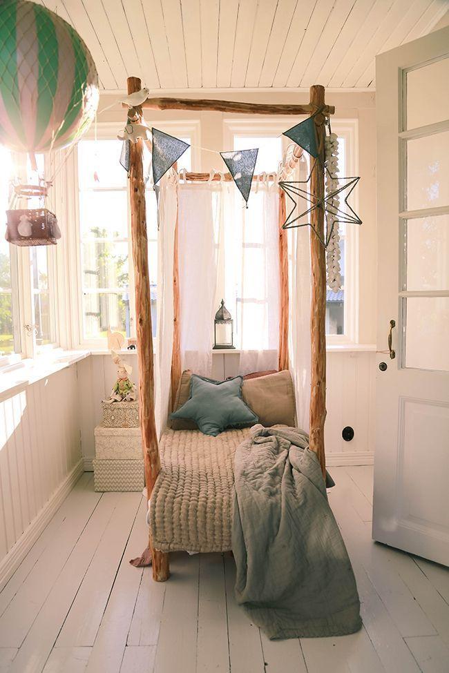 Auch eine interessante Idee für ein Kinderbett!