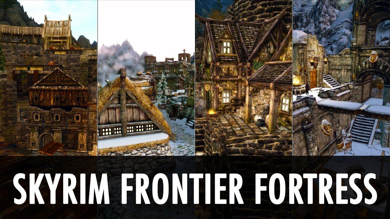 Skyrim Mod Tes Arena Skyrim Frontier Fortress Skyrim Skyrim Mods Tes Skyrim