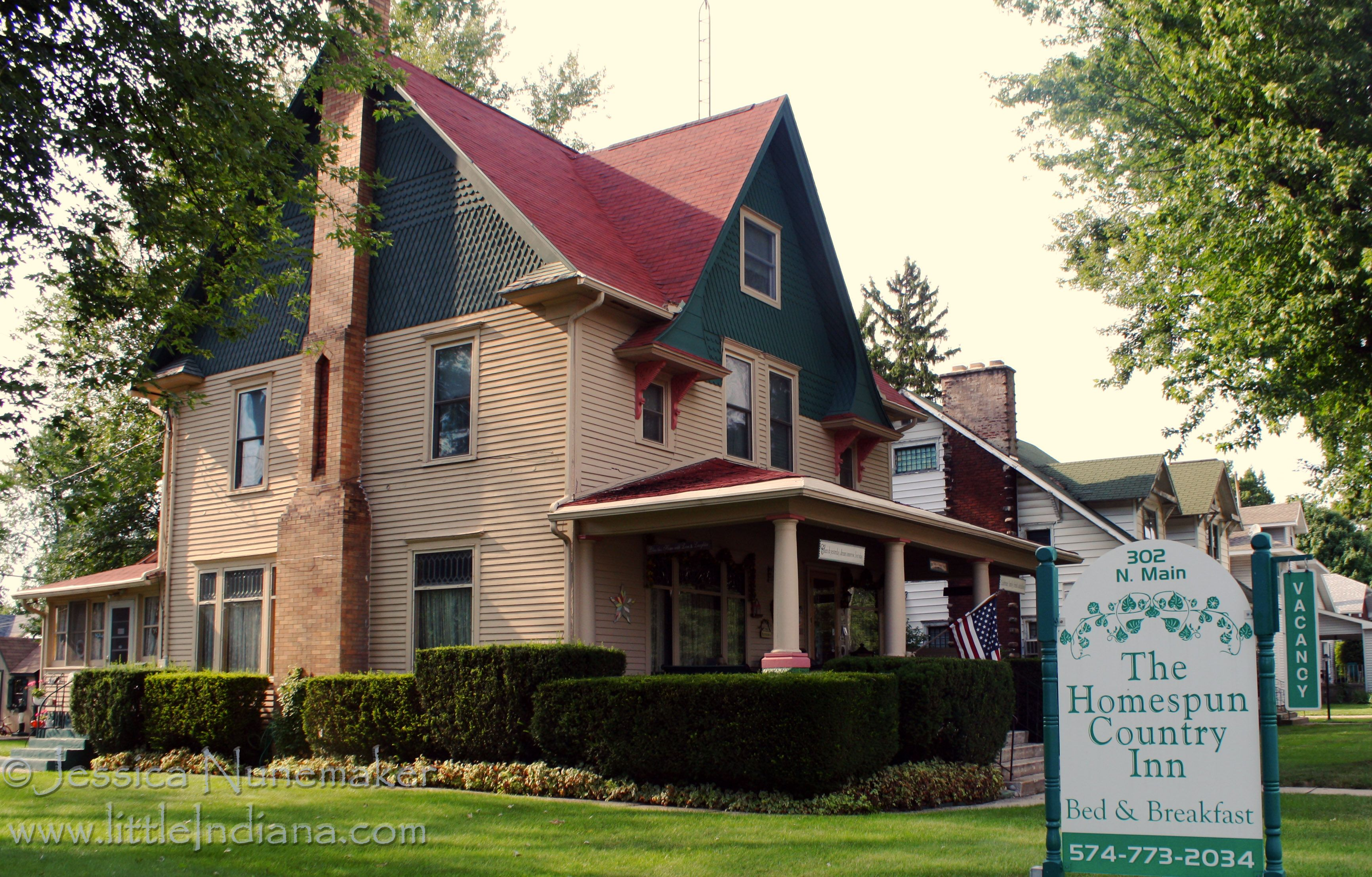 Nappanee, Indiana: Homespun Country Inn Bed and Breakfast