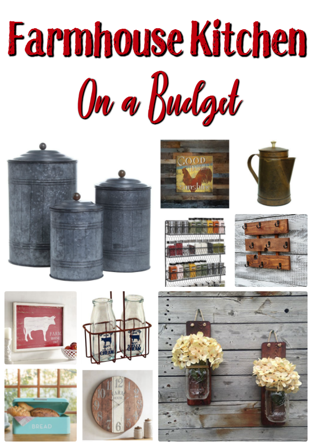 Get The Look For Less Farmhouse Kitchen Decor That Won T Break Your Family Budget