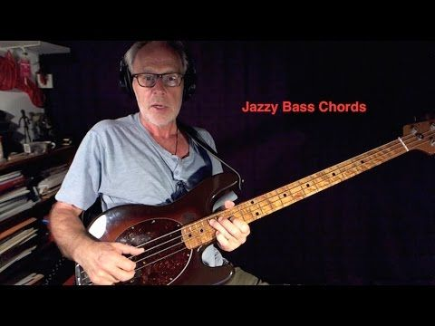 How To Play Jazzy Bass Chords Youtube Guitar Pinterest Bass