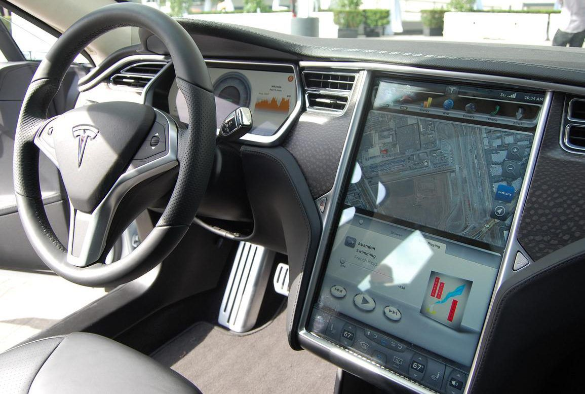 Image result for tesla model s interior | Vehicle interiors | Pinterest