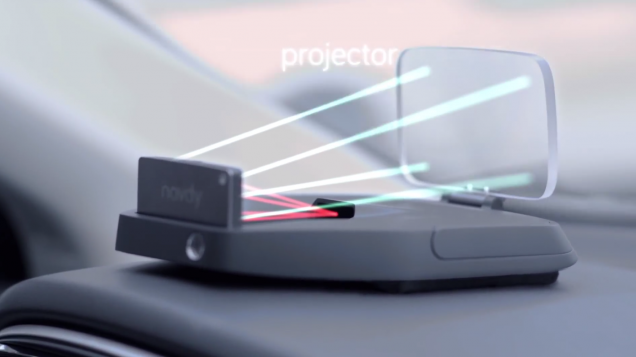 Navdy launched a heads-up display (HUD). The Company says that the new heads-up display will allow you to access yours smartphone apps while you are driving, without taking the smartphone out from your pockets or removing your hands from steering wheel.