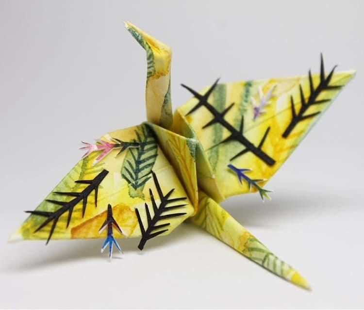 ===Grullas de papel Origami=== 383d6cfaf256724742ee8dbeca1edc4b