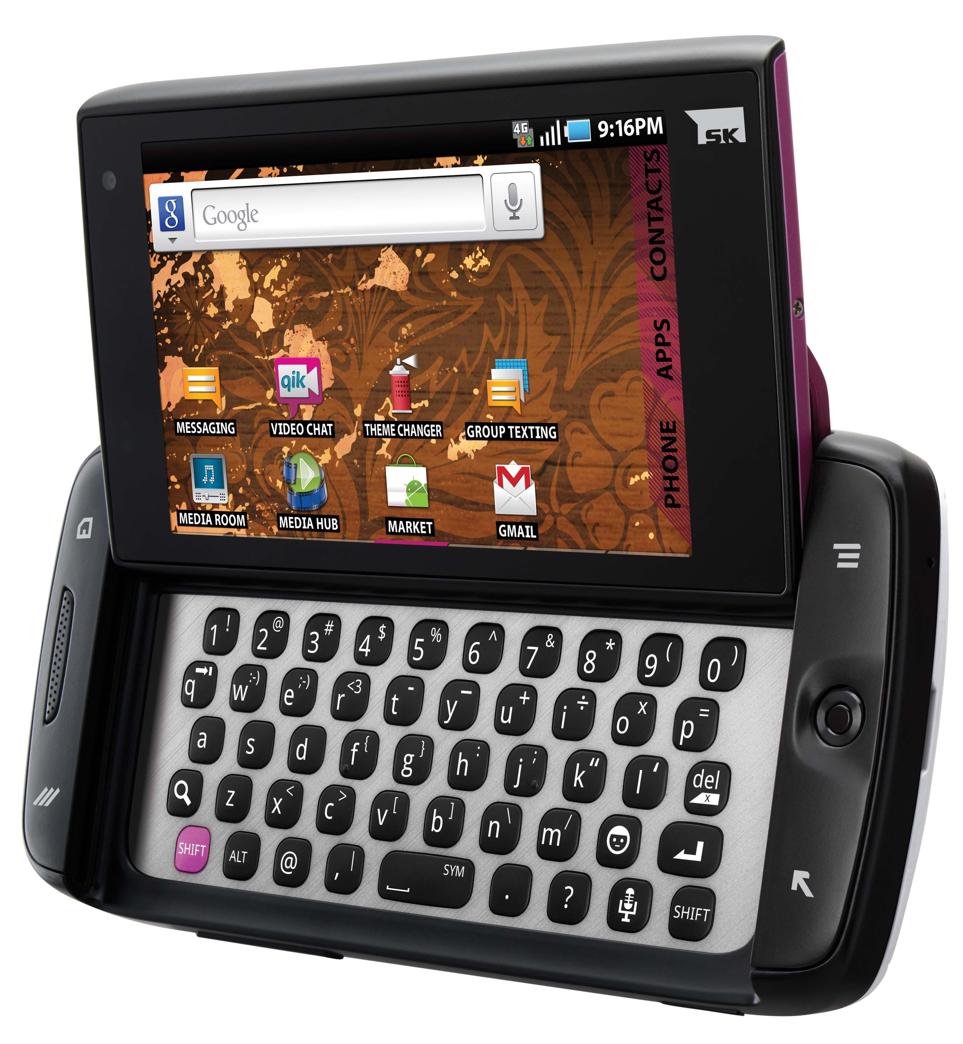 TMobile Samsung T839 Sidekick 4G Android Smartphone http