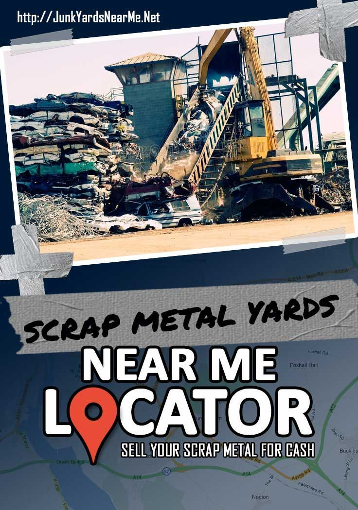 Click here to find scrap metal yards near me. Sell your