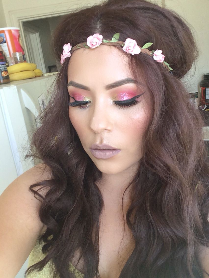 cute hippie makeup look halloween makeup looks