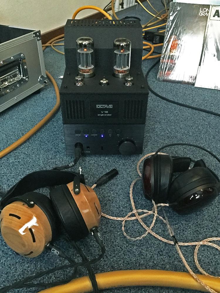 Octave V16: a European TOTL single ended tube amplifier