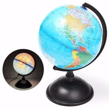 20cm led world globe earth tellurion atlas map rotating stand 20cm led world globe earth tellurion atlas map rotating stand geography educational gumiabroncs