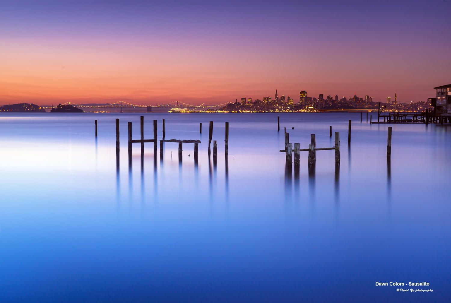 Dawn Colors - Sausalito by David Yu on 500px