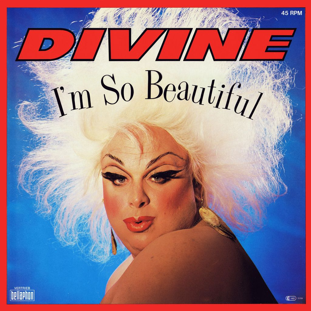 Divine I'm So Beautiful, 1984 German 12″ single, peaked