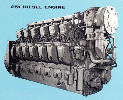 alco 251 v12 diesel engine for railroad service big diesel rh pinterest com FM Alco 251 Diesel Engine Alco 251 Engine Specifications