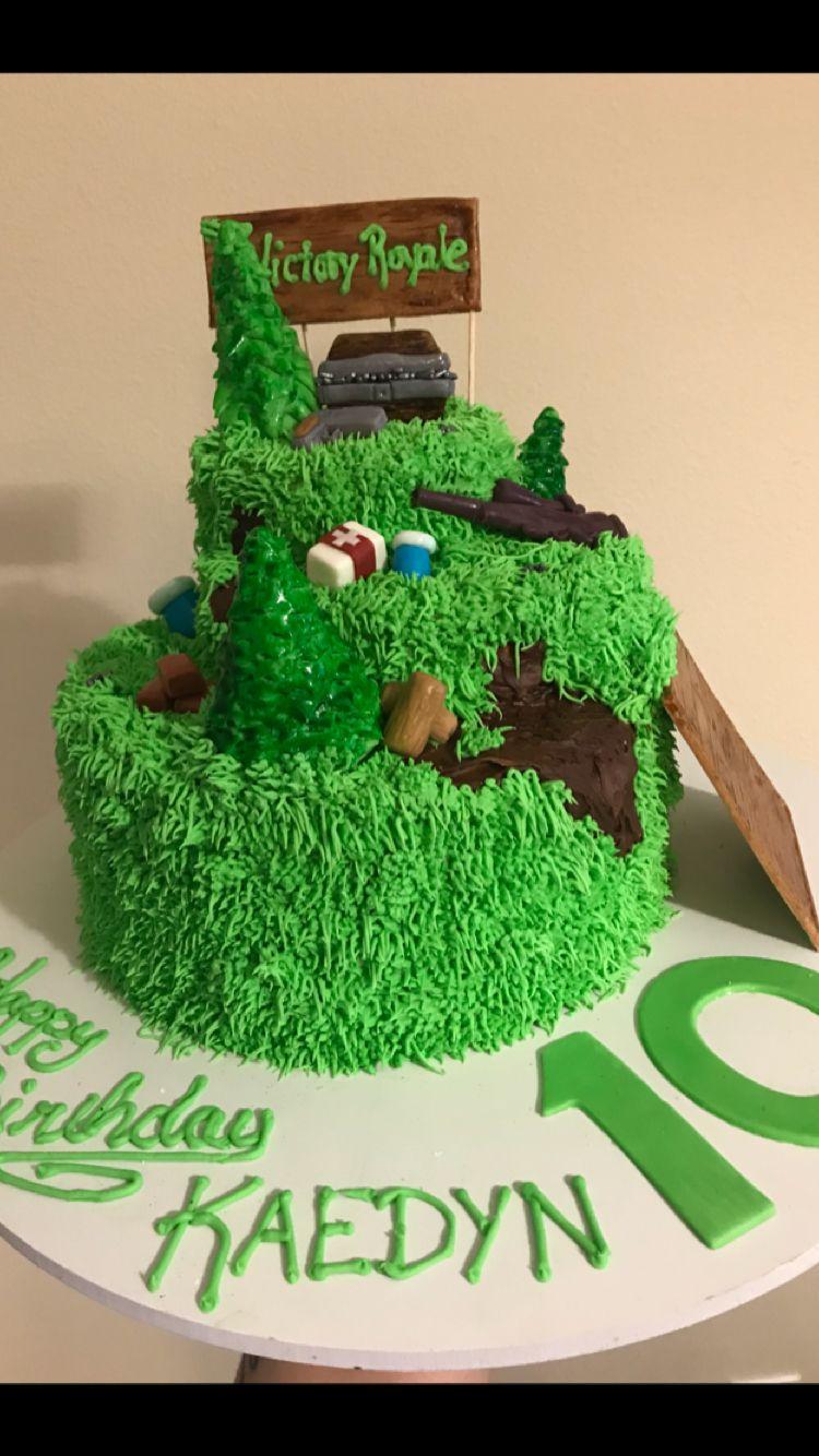 Fortnite Cake Boy birthday cake, 12th birthday cake