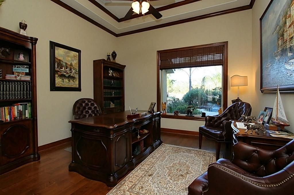Masculine Office Study Houston Tx 699 000 Home Office Space Study Office Masculine Office