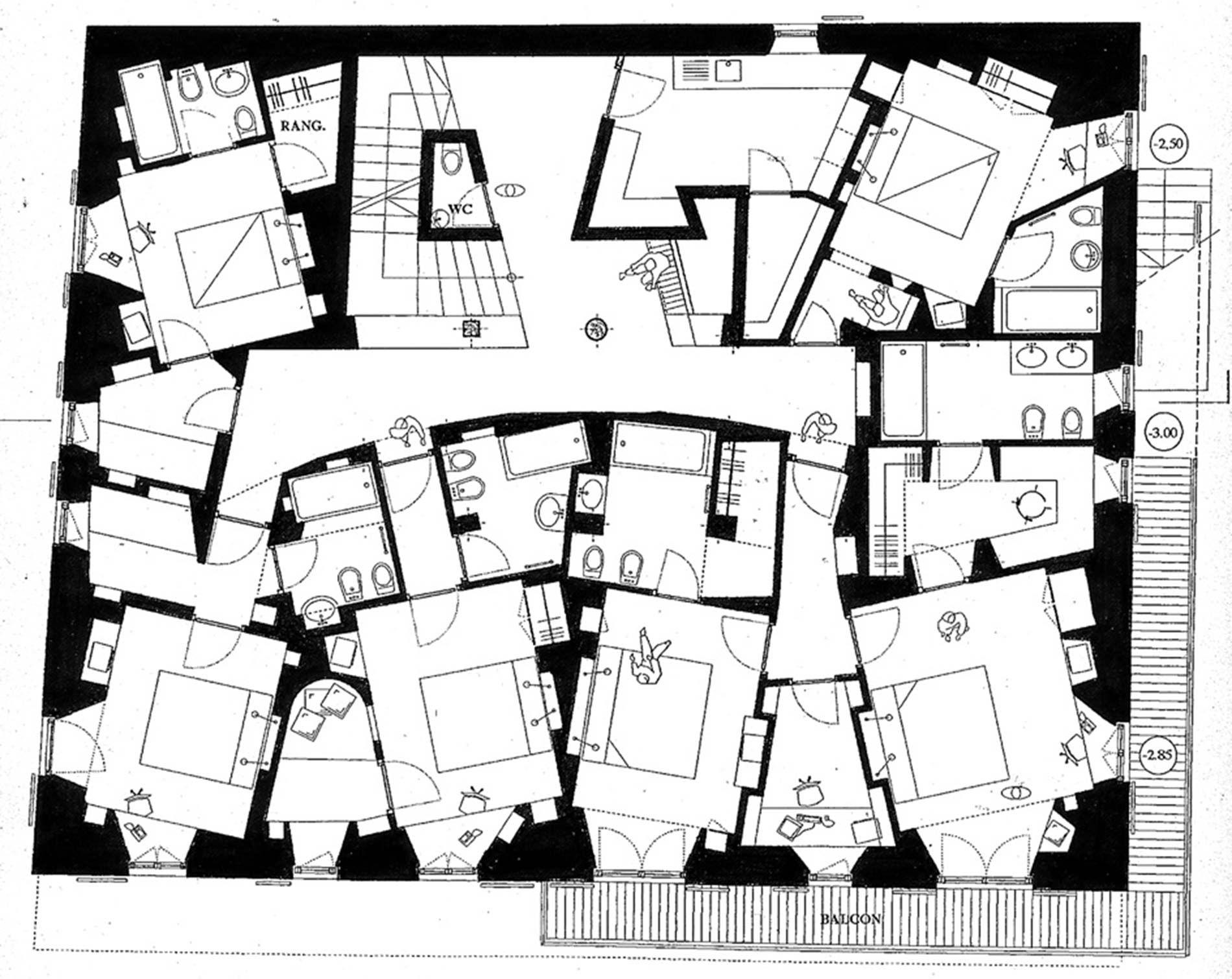 Chalet Prive A Megeve Plan Dessin Architecte Megeve Plan Logement