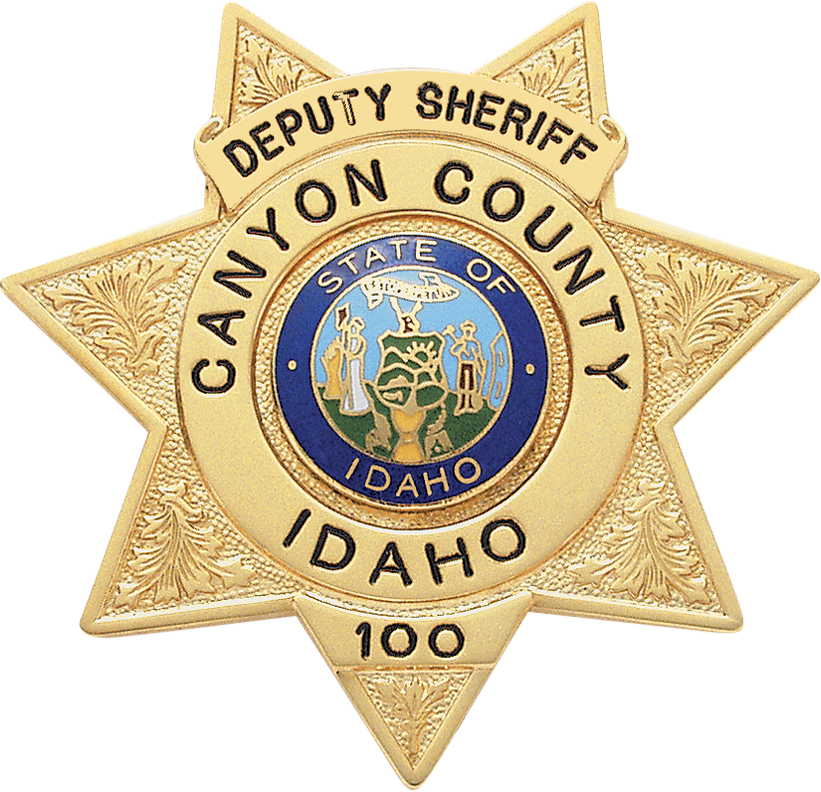US State of Idaho, Canyon County Sheriff Office Badge