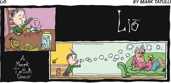 Lio Comic Strip, August 30, 2015 on GoComics.com
